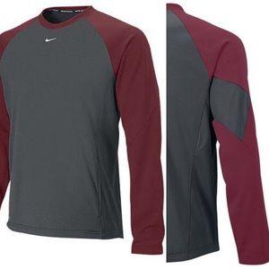 Nike sweatshirt color block sz XXL