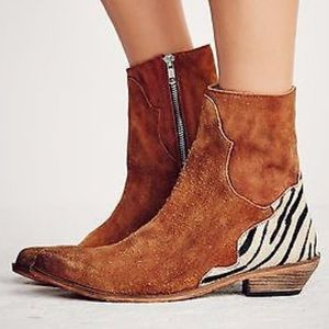 Free People Last Outlaw Ankle Bootie