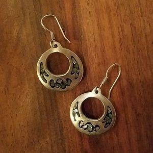 .925 Sterling Silver earrings