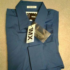 Nwt Men Express Extra Slim Fit dress shirt M