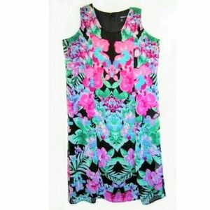 Plus Size Floral Aline Dress by Denim 24/7 size 2X