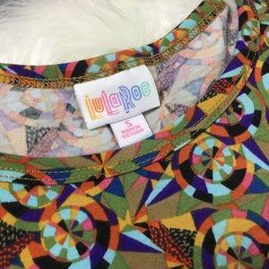 LuLaRoe Kaleidoscope Print Carly Dress S