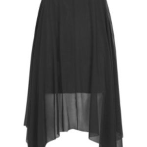 *NWT* Topshop High Waisted Black Skirt US 4