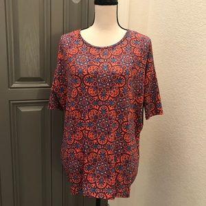LuLaRoe Shirt IRMA Tunic Women's New Oversized XS