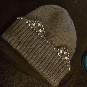 Blinged out winter hat by torrid