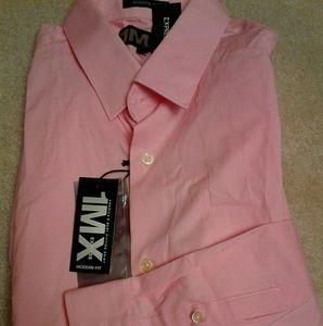 NWT Express Fitted dress shirt, men L, XL