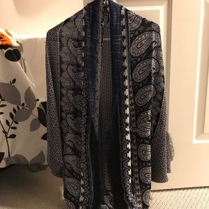 Tapestry Cocoon Cardigan
