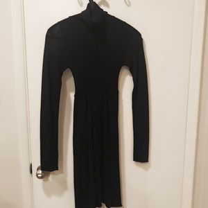 Zara glittery winter dress