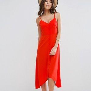 Asos button down sun dress