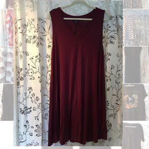 Tank top swing dress