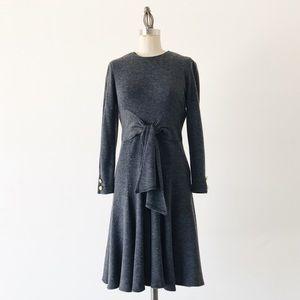 VINTAGE   Gray Knit Dress