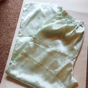 Vintage Mint satin pants