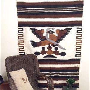 Vintage Woven Serape/ Blanket