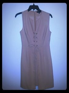 Kenneth Cole Lace-Up Dress