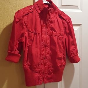 Forever 21 adorable red jacket Size M