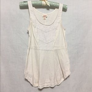 Medium cream tank top