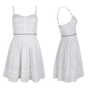 All saints anglais pom dress (skirt only) in white