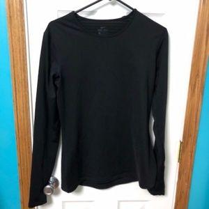 Black Dri-Fit Long Sleeved Shirt