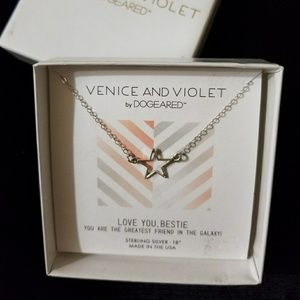Venice And Violet by Dogeared Necklace