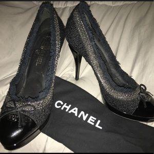 Rare Vintage Chanel heels