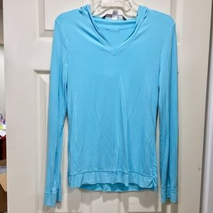 Body By Victoria Turquoise lounge top