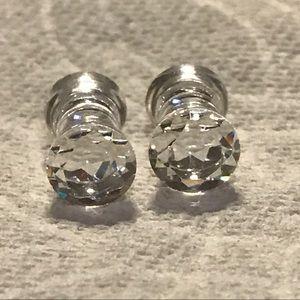 """4 g Plugs """"crystal"""""""