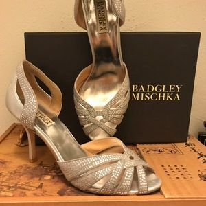 Badgley Mischka dress shoe 👡