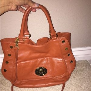 Emma fox bag w/long strap- ORANGE IS THE NEW BLACK