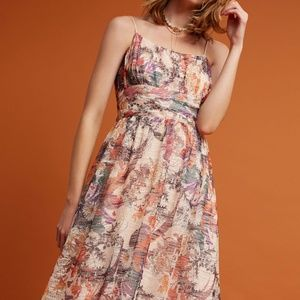 [Anthropologie] Maeve Floral Textured Dress