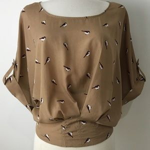Bird blouse by Willow & Clay medium
