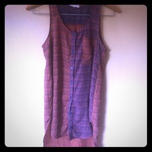 Lush // Anthropologie// fall colors tank top sm
