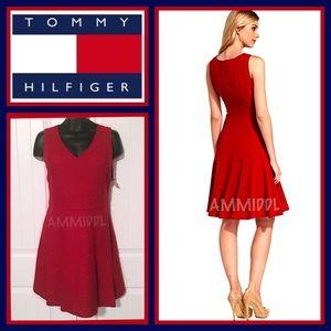 🆕TOMMY HILFIGER WOOL BLEND A-LINE 👗 DRESS