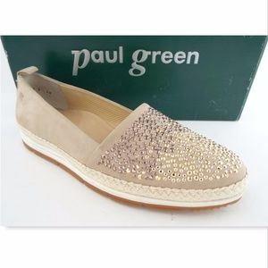 New PAUL GREEN Studded Loafer 5UK / 7.5US