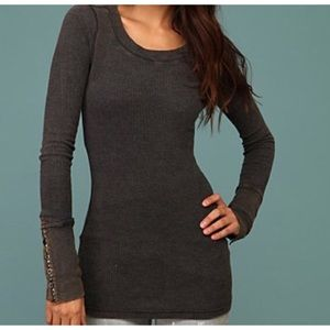 Free People Studded Cuff Thermal