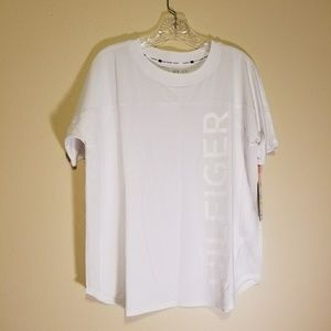 NWT Tommy Hilfiger jersey style tee