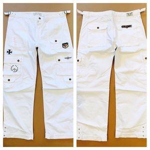 New Men ROBIN'S JEAN sz 42 Military Inspired Pants