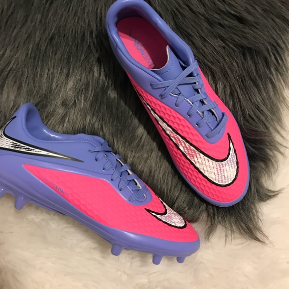 check out 8ec7e 91ee6 Nike hypervenom pink cleats