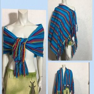 Hand Made/ Rebozo/Shawl/ Wrap