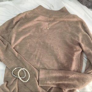 Mock Neck Cocoa Sweater Primark