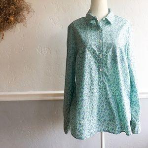 J. Crew Floral Popover Shirt, 12
