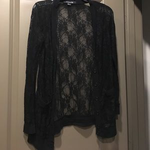 Forever21 Lace Cardigan