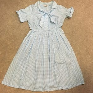 TRUE VINTAGE 1950s Jukebox dress