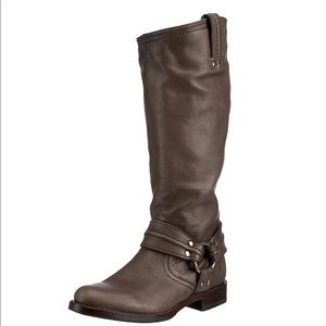 Frye Maxine Trapunto Harness Boot