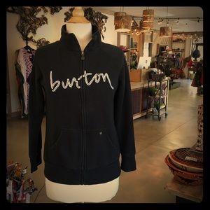 Burton - zippered sweatshirt
