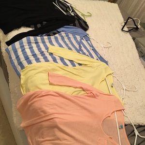 5 maternity shirts