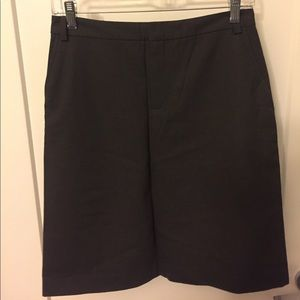 Banana Republic Stretch Skirt, Gray, Size 4