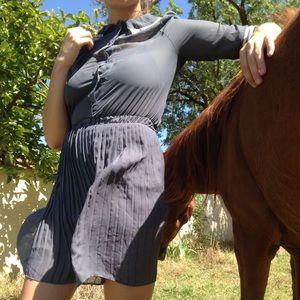 Beautifully pleated dress