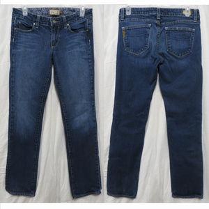 Paige jeans 27 Melrose Lagoon straight leg