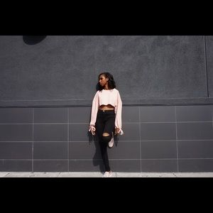 SIMPLY K PINK SWEATER