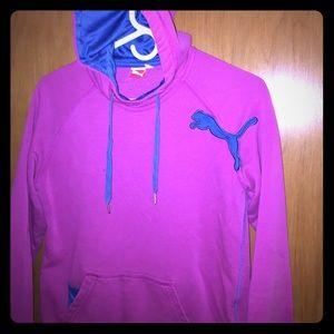 Puma pink and purple hoodie 😍
